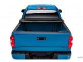 Крышка виниловая для  Toyota TUNDRA, трехсекционная, цвет черный 2007 г.-
