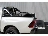 Защитная дуга в кузов пикапа,полир. нерж. сталь + пластик ABS, изображение 2