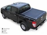 """Крышка на Ford Ranger T6 серия """"SOT-ROLL"""", цвет матово-черный"""