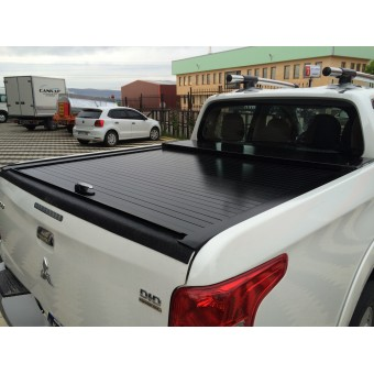 """Крышка для Mitsubishi L200 """"ROLL-ON"""" цвет черный (электростатическая покраска)"""