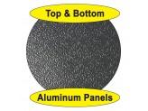 Крышка пикапа трехсекционная, алюминиевая, цвет черный (для Double Cab), изображение 6