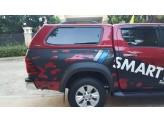Кунг пикапа для Double Cab, модель SM4 (окрашенный в заводской цвет авто, стекловолокно), изображение 2