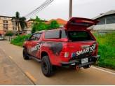 Кунг пикапа для Double Cab, модель SX с распашными боковыми окнами