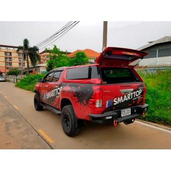 Кунг пикапа для Double Cab, модель SX с распашными боковыми окнами (окрашенный в заводской цвет авто)