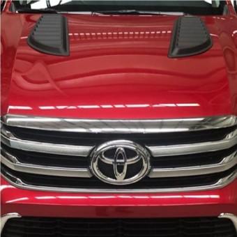 Комплект накладок на капот для Toyota HiLux
