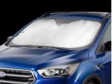 Солнцезащитный экран на лобовое стекло Land Rover Discovery Sport , цвет серебристый/черный