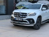 "Защита переднего бампера ""TetriPlus Chrome"" для Mercedes-Benz X-Class"