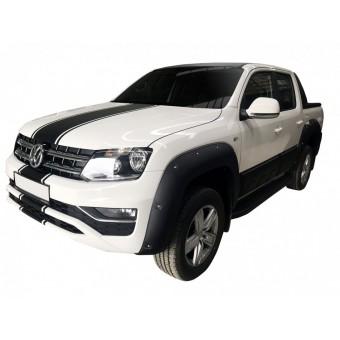 Расширители колесных арок для Volkswagen Amarok (пластик ABS) до 2017 года