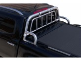 """Крышка для Mercedes-Benz X-Class серия """"SOT-ROLL"""" с дугой 63 мм в комплекте с защитой заднего стекла и рейлингами"""