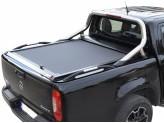 """Крышка TESSER на Mercedes-Benz X-Class, серия """"SOT-ROLL"""", цвет черный с рейлингами"""