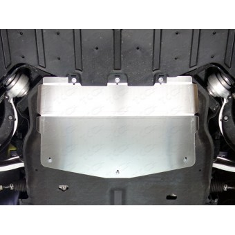 Защита картера для Jaguar F-PACE (алюминий) 4 мм (для 3.0, 2.0d, 3.0d) 2016 -