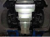 Защиты комплект Mitsubishi L200 4 мм для мех. КПП, можно заказать отдельные части