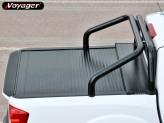 """Защитная дуга """"DELUX"""" в кузов пикапа 76 мм , цвет черный"""