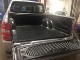 """Вкладыш в кузов пластиковая для двойной кабины под борта с логотипом """"Mitsubishi Motors"""", изображение 5"""