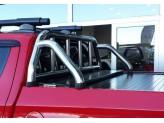 """Крышка для Mitsubishi L200 """"ROLL-ON"""" цвет черный с дугой CR003"""