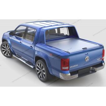 "Крышка Mountain Top для Volkswagen Amarok ""TOP ROLL"", цвет серебристый (комплектация Aventura)"