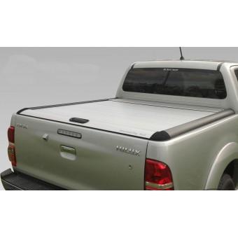 """Крышка для Toyota HiLux """"TOP ROLL"""", цвет серебристый"""