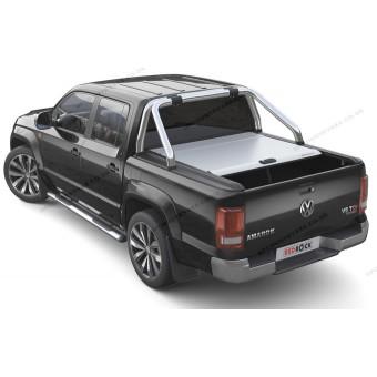 """Крышка Mountain Top для Volkswagen Amarok """"TOP ROLL"""", цвет только серебристый (под оригинальную дугу)"""