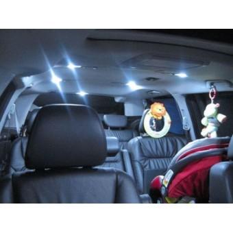 Светодиодные фонари Premium LED в салон (вместо штатных)