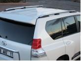 Комплект хромированных рейлингов для Toyota Landcruiser Prado 150 (до рестайлинга), изображение 4