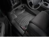 Коврики WEATHERTECH для Toyota TUNDRA передние**, цвет черный, для Double Cab, для мод с 2012 г