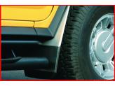Комплект передних брызговиков на Hummer H2