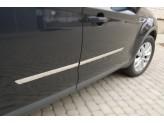 Хромированные молдинги для Renault Duster на двери из 4-х частей