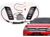 Cветодиодные фонари передние для Ford Ranger T6, изображение 2