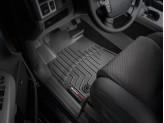Коврики WEATHERTECH для Toyota TUNDRA передние, цвет черный, для Double Cab с двумя отверстиями для крепления