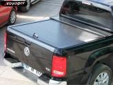 """Алюминиевая крышка """"ROLL-ON"""" цвет черный (электростатическая покраска, возможна установка с дугой в кузов """"Actyon""""), изображение 2"""