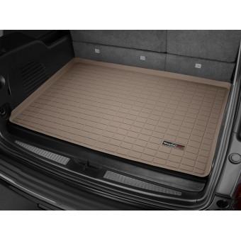 Коврик багажника WEATHERTECH для Cadillac Escalade ESV для Cadillac Escalade ESV, цвет бежевый (для авто с 3-мя рядами сидений)