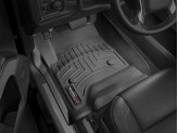 Коврики в салон передние**, цвет черный,для Crew Cab,Double Cab для мод с 2015 г