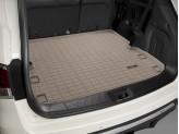 Коврик багажника WEATHERTECH для Nissan Pathfinder, цвет бежевый для 2-х рядов сидений