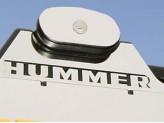 """Хромированные накладки для Hummer H2 на одну поперечину с буквами """"HUMMER"""""""