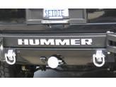 "Буквы ""HUMMER"" на задний бампер хром."