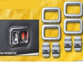 Хромированные накладки на двери из 8 частей (авиационный алюминий с тройным хромовым покрытием), изображение 2