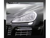 Хромированные накладки на фары Porsche Cayenne