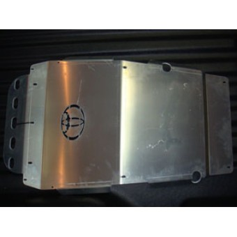 Защита картера алюминиевая 5 мм (940 x 580 мм)