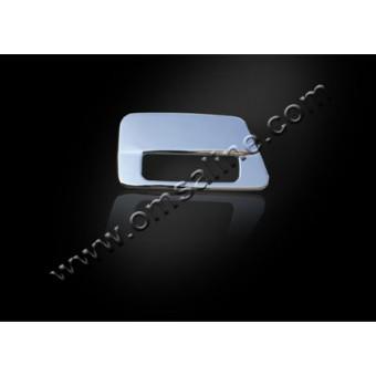 Хромированная накладка на ручку двери багажника Toyota Landcruiser Prado 120 (нерж. сталь)