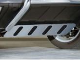 Алюминиевая защита картера