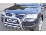 Защита картера для Volkswagen Touareg, полир. нерж. сталь