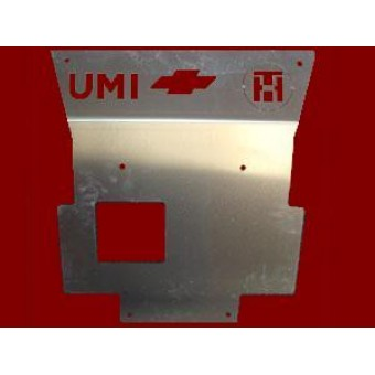 Алюминиевая защита картера 5 мм (640 х 540 мм)