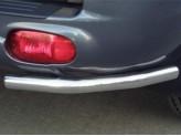 Защита задняя, угловая для Daihatsu Terios 60 мм