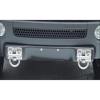 Хромированные буксировочные крюки для Hummer H3