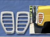 Хромированные накладки для Hummer H2 на повторители поворотов