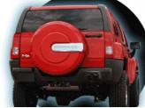 Чехол запасного колеса 265/75/R16