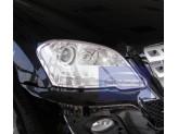 Хромированные накладки на фары Mercedes-Benz M-class W164