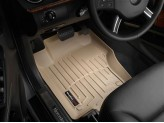Коврики WEATHERTECH для Mercedes-Benz M-class W164 передние, цвет бежевый Small Kick Panel