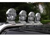 Лампы дальнего света PIAA520SMR H3-55 для Nissan Navara D 40 с установочным комплектом 113713P