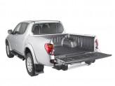 Ковер-вставка в кузов пластиковая для двойной кабины под кунг